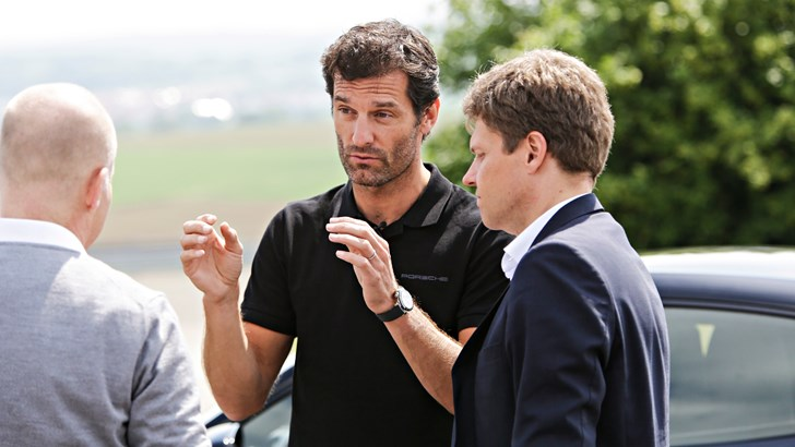 Porsche Mission E Gains Mark Webber's Seal Of Approval