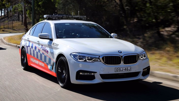 BMW 530d Joins NSW Police Highway Patrol Fleet