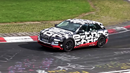 Audi E-tron Has A Go Round The Nurburgring