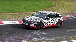 Audi E-tron Has A Go Round The Nurburgring
