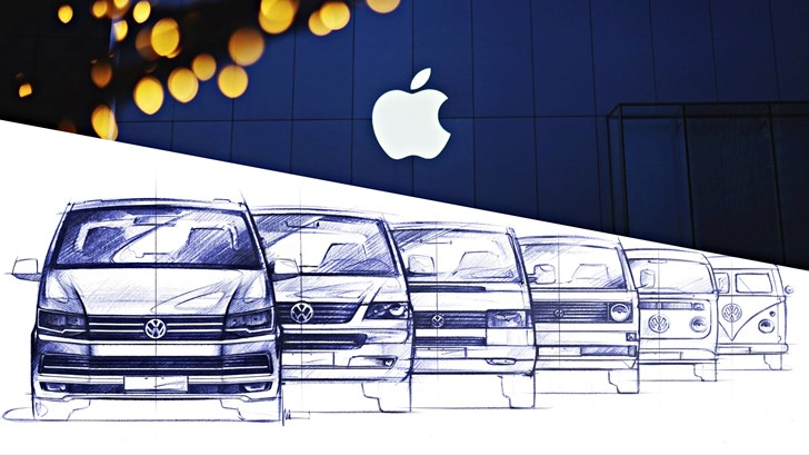 Apple Ties Up With Volkswagen For Their Autonomous Car Project – Gallery