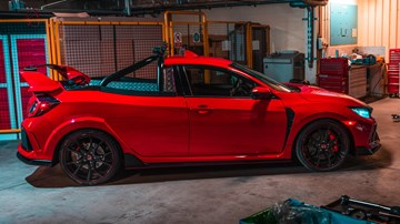 Honda UK Makes A Crazy Civic Type R Pickup One-Off