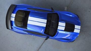 Ford Teases 2020 Mustang GT500, Blue Collar Murderer