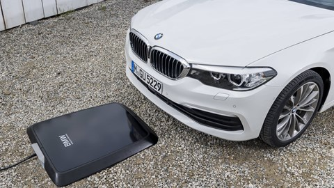 BMW Rolls Out Wireless Charging For 5 Series Hybrid
