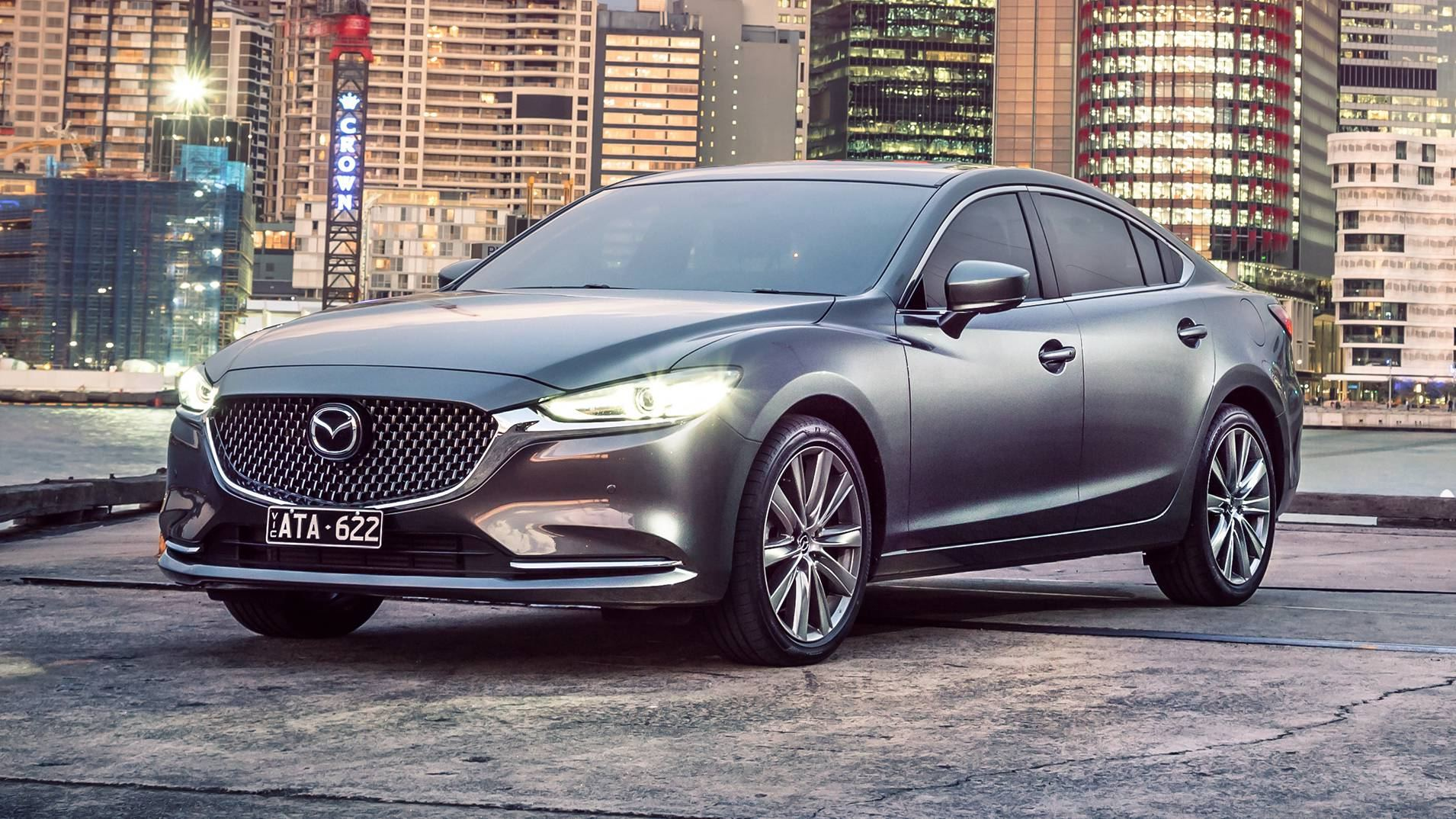 Mazda 6 Los Angeles >> News - Turbo'd-Up 2018 Mazda6 Detailed For Australia
