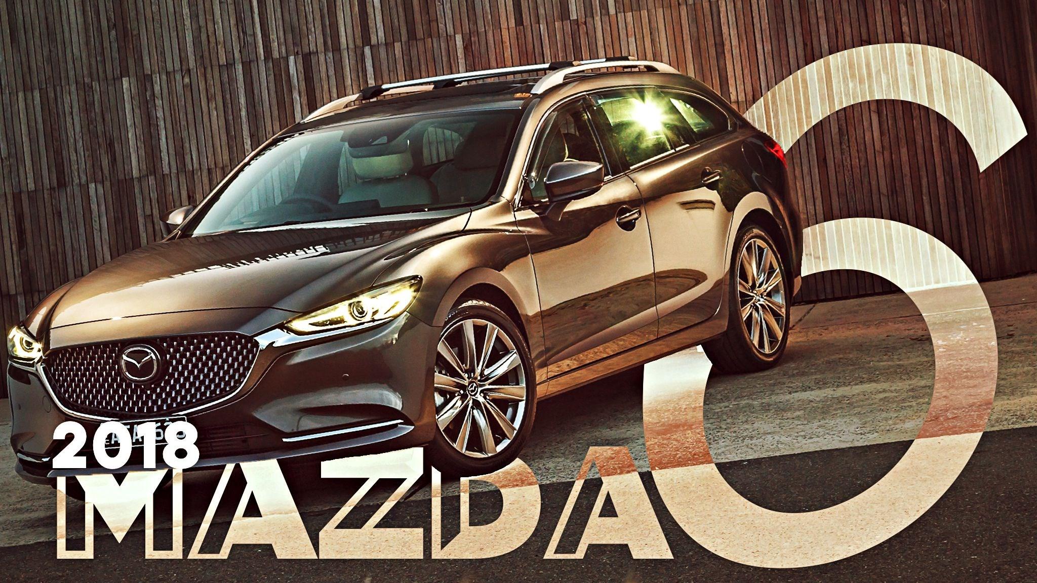 Turbo'd-Up 2018 Mazda6 Detailed For Australia