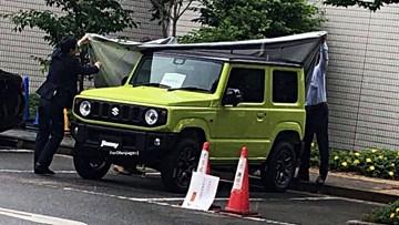 2019 Suzuki Jimny Spotted Entirely Undisguised – Gallery