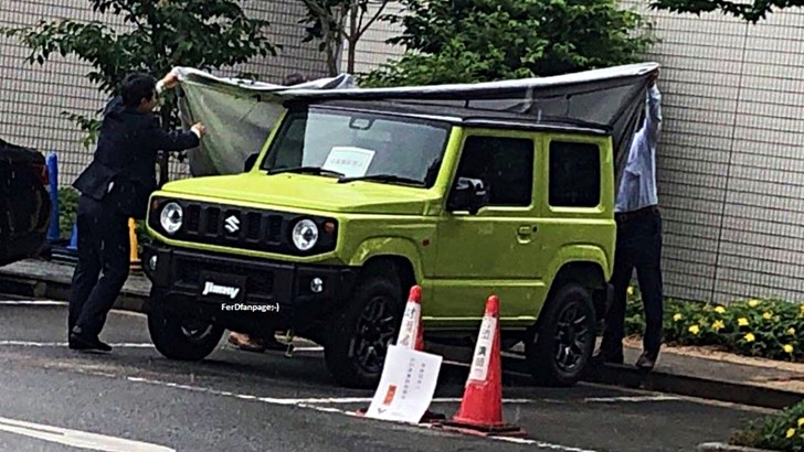 2019 Suzuki Jimny Spotted Entirely Undisguised – Gallery