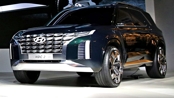 2018 Hyundai Grandmaster HDC-2 Concept –Busan Motor Show