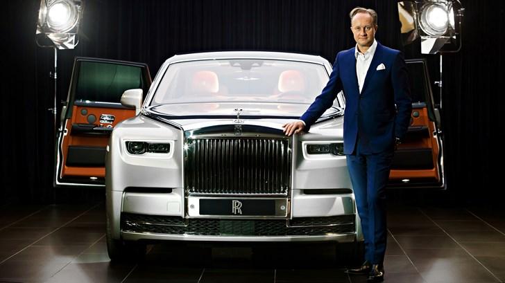 Rolls-Royce Bids Its Design Boss Farewell – Gallery