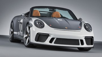 Porsche Unveils GT3-Derived 911 Speedster Concept
