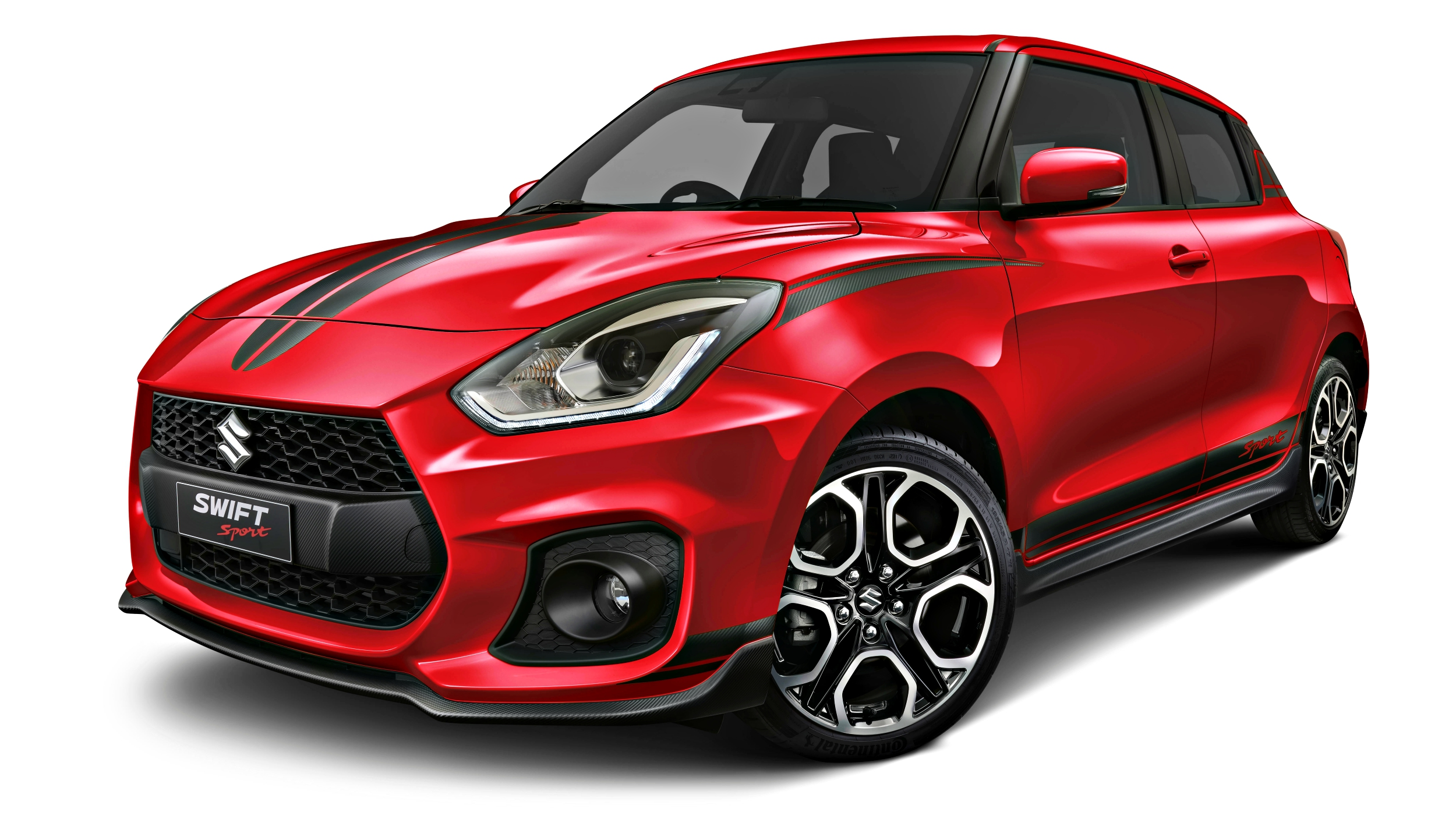 news 19 suzuki swift sport red devil adds more visual vim. Black Bedroom Furniture Sets. Home Design Ideas