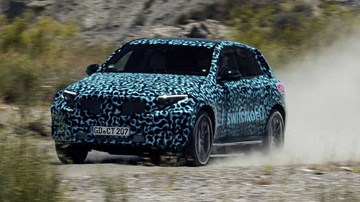 Mercedes-Benz's Electric EQC Tested In Searing Spanish Heat