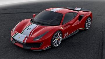 2018 Ferrari 488 Pista - Piloti Ferrari