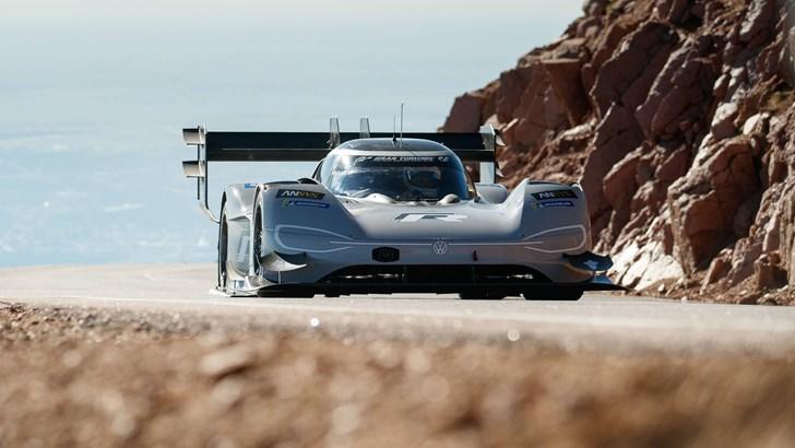 Volkswagen I.D R Pikes Peak Smashes Hill Climb Record