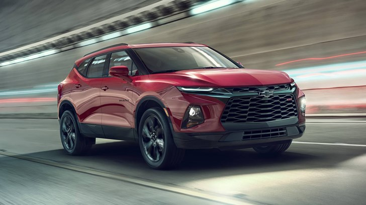Chevrolet Reveals Blazer Crossover, Out In 2019