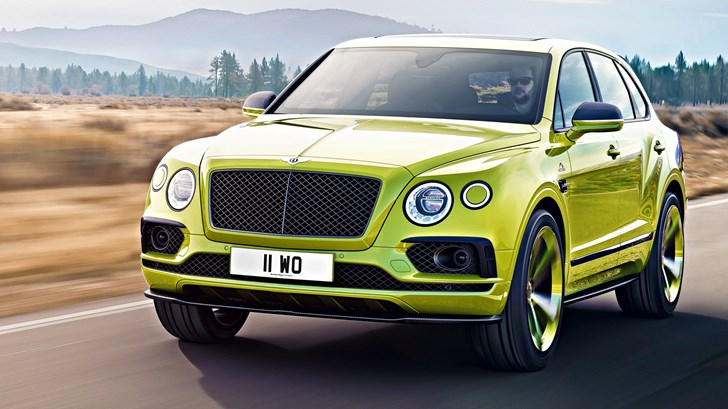 2018 Bentley Bentayga W12 Pikes Peak Edition