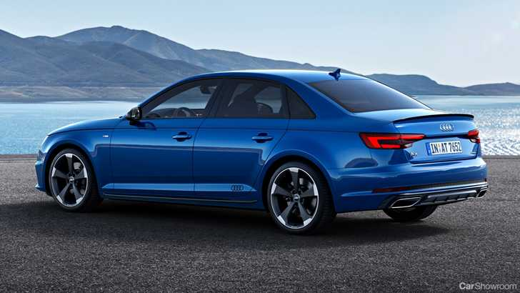 news audi facelifts the a4 for 2019. Black Bedroom Furniture Sets. Home Design Ideas
