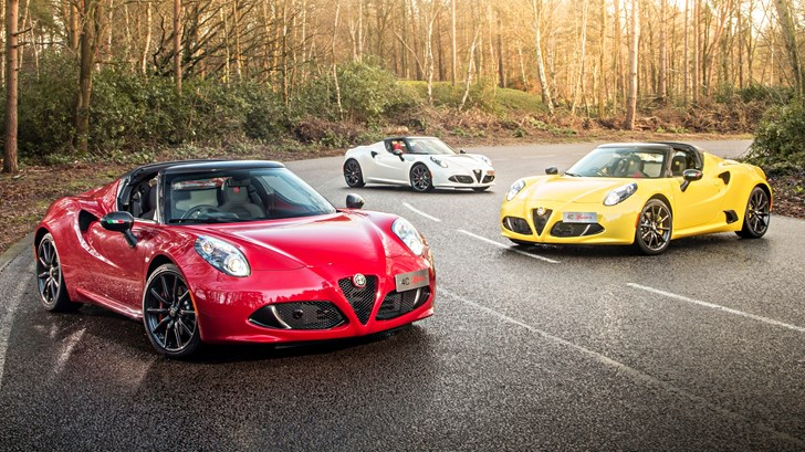 Alfa Romeo 4C Coupe May Face The Axe – Gallery