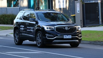 Holden Starts Local Testing Of All-New Acadia SUV
