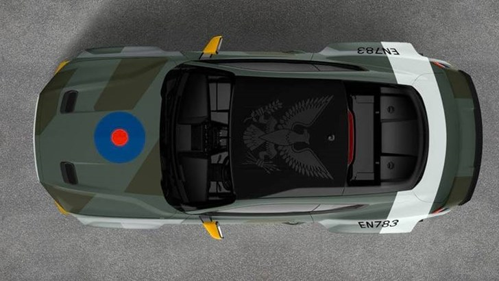 Ford's Eagle Squadron Mustang GT Is A 522kW Aviation Salute