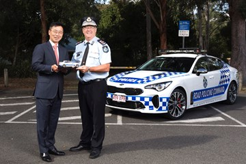 2018 Kia Stinger - Queensland Police