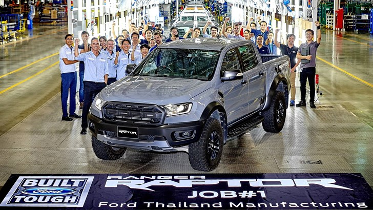 Ford's Ranger Raptor Production Commences In Thailand