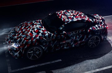 Toyota Teases All-New Supra For Goodwood Premiere