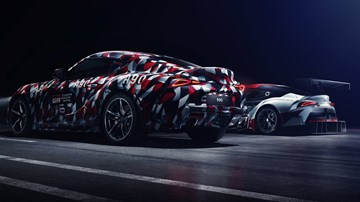 Toyota's Debut Supra Will Be Hidden Under Camo