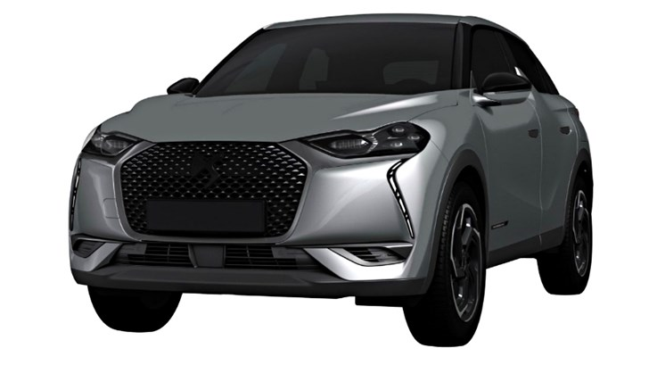 Citroen DS3 Crossback Patents Look Funny – Gallery