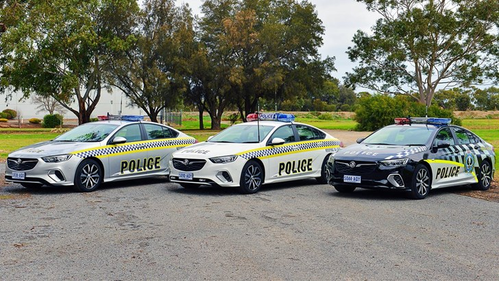 Holden's ZB Commodore Reports For Duty With SA Police