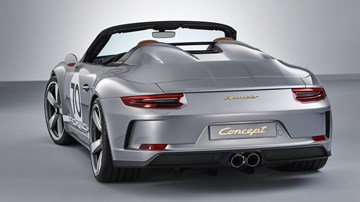 Porsche's 911 Speedster Concept To Be Given Production Nod