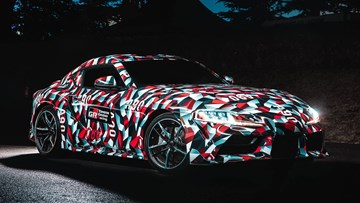 Toyota's Next Supra To Have Performance To Worry A 911