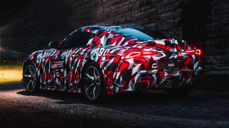Four-Pot Flavour Confirmed For Toyota's A90 Supra