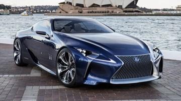 Lexus Boss Extols Hybrid Tech, Hints At New F Supercar