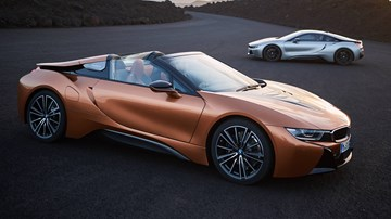 BMW i8 Roadster Joins Updated Coupe For AU Debut