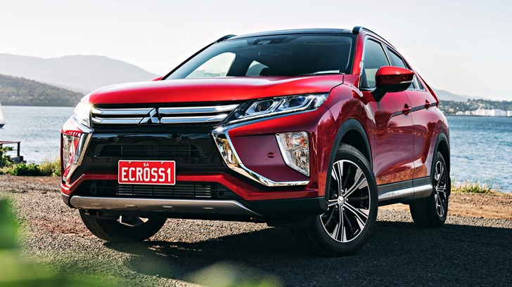 2018 Mitsubishi Eclipse Cross Exceed AWD