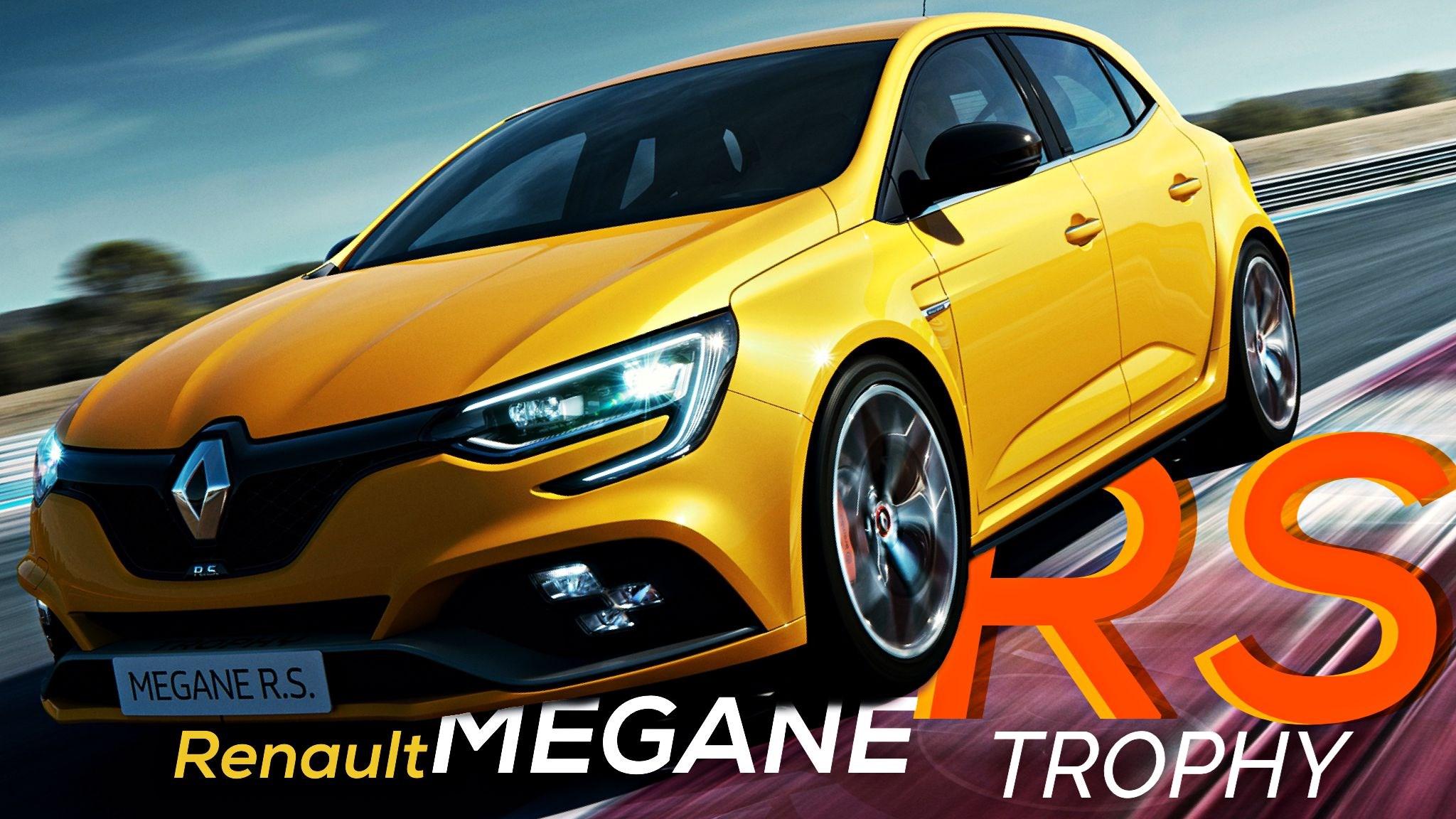 Renault Unveils Hardcore Megane RS Trophy