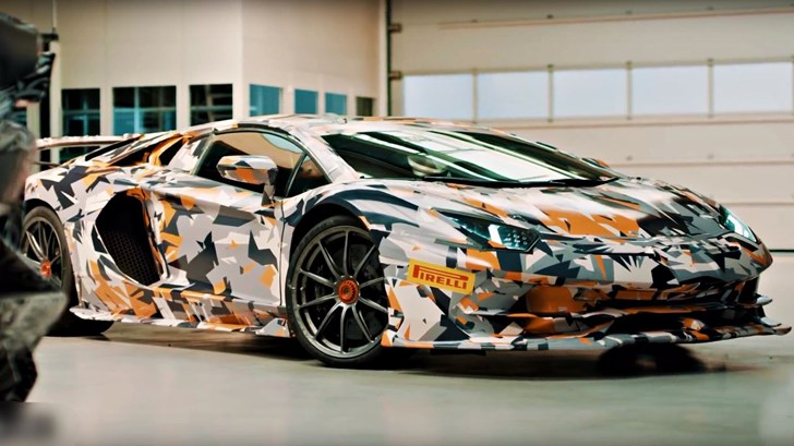Lamborghini Confirms Aventador SVJ, Hunts Nurburgring Record