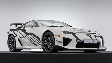 Lexus Unveils LFA-based Art Car For F Division Anniversary