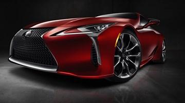 Lexus Preparing Beefier LC F As Flagship V8 GT