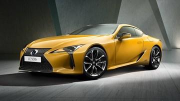 Lexus Previews LC Yellow Edition For Paris Debut