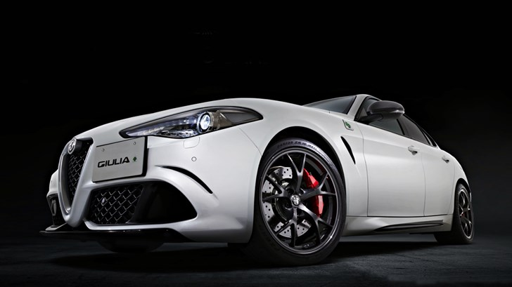 2018 Alfa Romeo Giulia Quadrifoglio – Carbonio Edition
