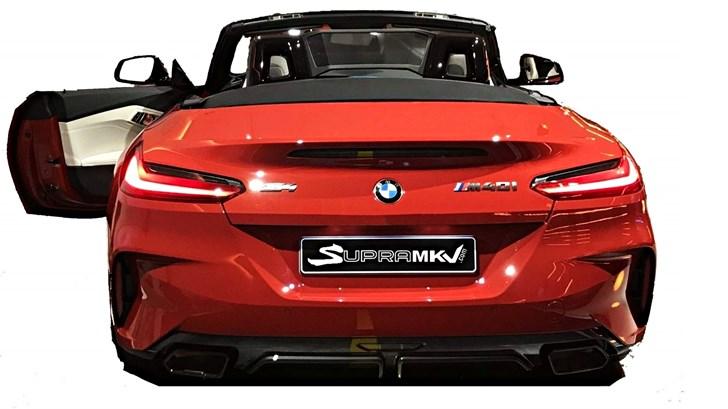 2019 BMW Z4 Leaks On A Toyota Supra Forum – Gallery