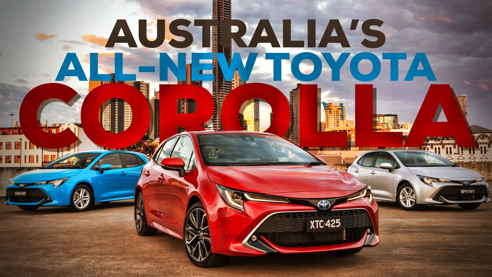 Toyota AU Details All-New 2018 Corolla Hatch