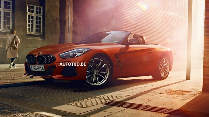 BMW Z4 M40i Official Shots Leak Online – Gallery