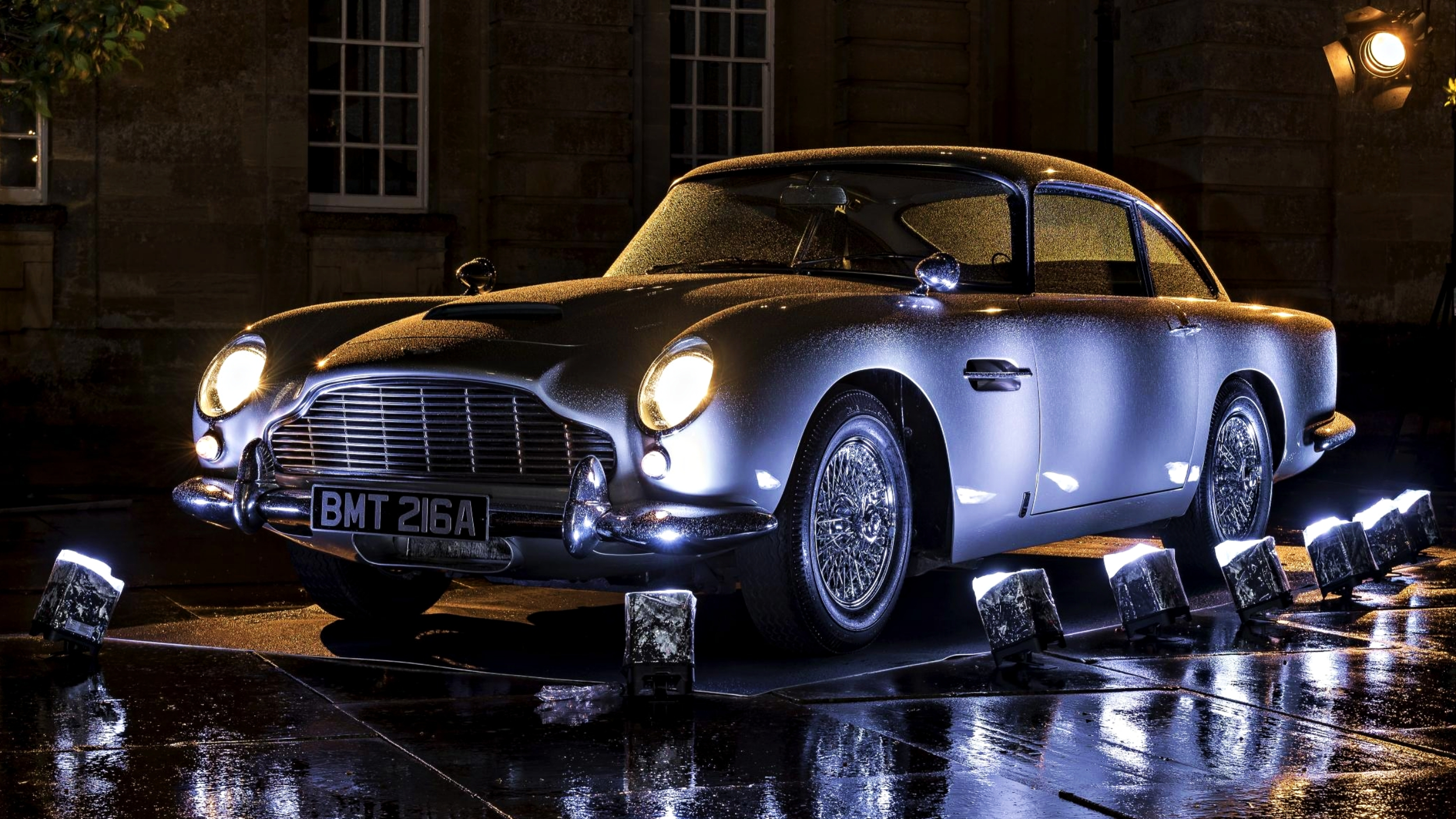 News Aston Martin To Make 25 Db5 Goldfinger
