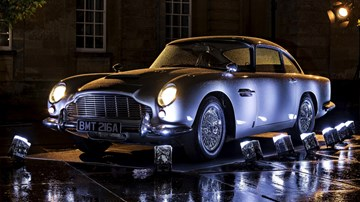 Aston Martin To Make 25 DB5 Goldfinger 'Continuations' – Gallery