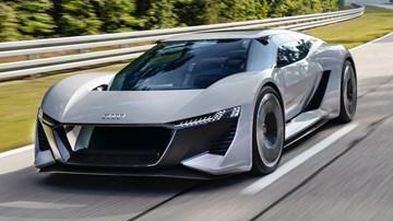 2018 Audi PB18 e-tron Concept