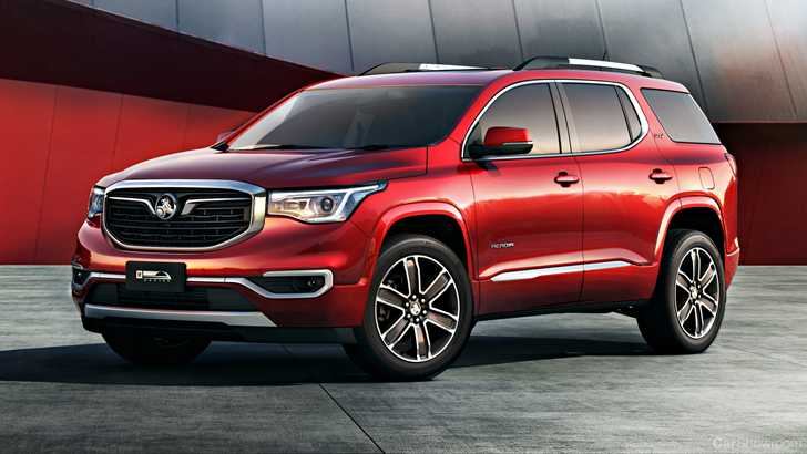 News - Holden Screws Down Some 2019 Acadia Details